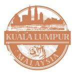 Kuala Lumpur, Malaysia stamp — Stock Vector #18475507