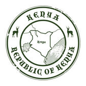 Kenya stamp — Vetorial Stock