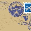 New York, New York City stamp set — Stock Vector #18848959