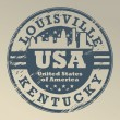 Royalty-Free Stock Vector Image: Kentucky, Louisville stamp