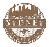 Sydney, Australia stamp — Stock Vector