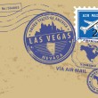 Nevada, Las Vegas stamp — Stock Vector #19318719