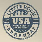 Arkansas, küçük taş damga — Stok Vektör