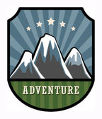 Adventure sign — Stock Vector