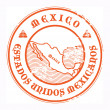 Royalty-Free Stock Vector Image: Mexico stamp