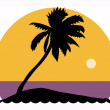 Royalty-Free Stock Imagen vectorial: Palm tree