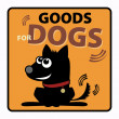 Goods for dogs — Stok Vektör
