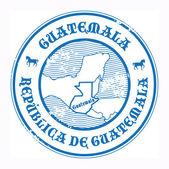 Guatemala stamp — Stock Vector