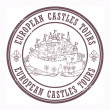 Постер, плакат: European Castles Tours stamp