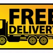 Royalty-Free Stock Vector Image: Delivery truck