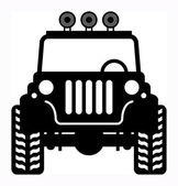 Off-road vehicle — Stock Vector