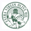 Extra Virgin Olive Oil stamp - ベクター素材ストック