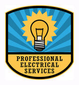 Electrical Services label — Stock Vector