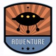 Adventure label — Vector de stock #21455553