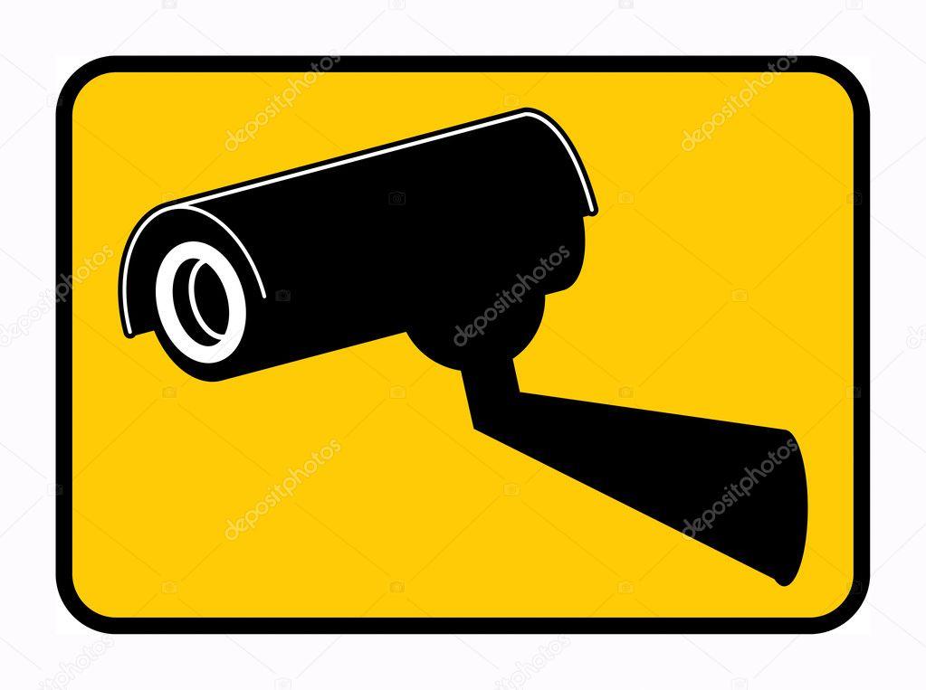 监控摄像头标志 — 矢量图片作者 _fla