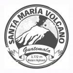 Santa Maria Volcano, Guatemala stamp — Stock Vector #21971897