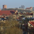 Vilnius old town cityscape — Stock Photo