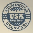 Delaware, Wilmington stamp — Stock Vector #22143423