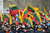 Independence Day, Lithuania — Stock Photo
