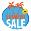 Summer sale — Vector de stock #22334329