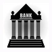 Bank sign — Stock Vector