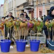 Palm Sunday in Vilnius — Stock Photo