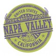 Greetings from Napa Valley sign — Stock Vector