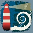 Lighthouse abstract - Stock Vector