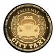 Exclusive - City Taxi stamp — Stock Vector #23365022