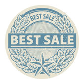 Best Sale stamp — Stock Vector