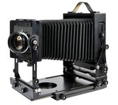 Large format camera — 图库照片