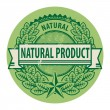 Natural Product sign — Stock Vector #24120353