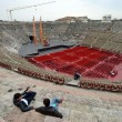 Roman amphitheatre, Verona — Stock Photo
