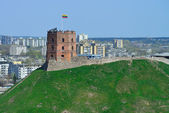 Vilnius, Tower of Gediminas — Stock Photo