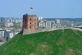 Vilnius, Tower of Gediminas — Stock Photo