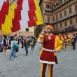 Stock Photo: Parade in Siena