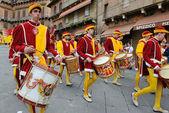 Parade in Siena — Stock Photo