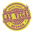 Greetings from Las Vegas, Nevada sign — Stock Vector