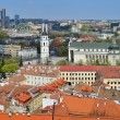 Vilnius city center panorama — Stock Photo