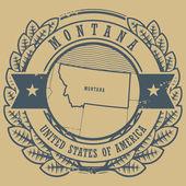 Montana, USA sign — Stock Vector