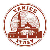 Venice, Italy stamp — Stock Vector