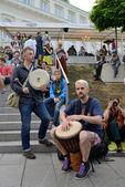 Street music day on May, Vilnius — Stock Photo