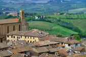 Italy, Tuscany. San Gimignano — Stock Photo