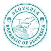 Slovenia stamp — Stock Vector