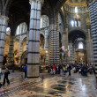 Cathedral interiors of Siena, Italy — Stock Photo
