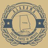 Alabama, USA sign — Stock Vector
