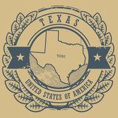 Texas, USA sign — Stock Vector