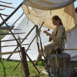 Festival of Experimental Archaeology, Lithuania — Stock Photo