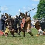Постер, плакат: Medieval fights