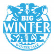 Big Winter Sale stamp — Stock Vector #28926319